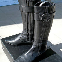 Hugo Boss Leather Boots - Eur 39  Photo
