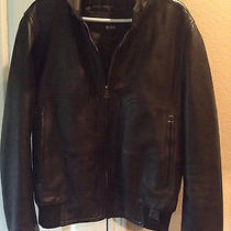 Hugo Boss Leather Jacket Photo