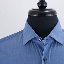 Hugo Boss Medium Blue Endersonx Modern Fit Shirt 15 3720 Photo
