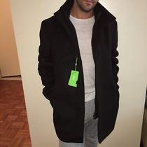 Hugo Boss Men's C-Coxtan 5 Wool Cashmere Coat Green Label Size 50 Us M Photo