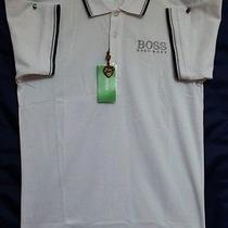 Hugo Boss Men's Polo Shirt 100% Cotton Modern Fit Medium Photo
