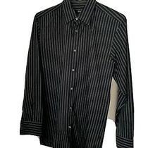 Hugo Boss Mens Slim Fit Long Sleeve Button Down Shirt  15 1/2 32/33 Photo