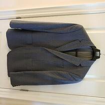 Hugo Boss Summer Blazer Size 40r Blue Check Excellent Condition Photo