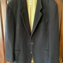 Hugo Boss Twenty Black Cashmere Wool Mens Blazer Sport Coat Jacket - 44l Photo