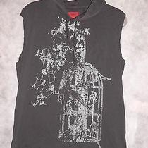Hugo Hugo Boss Hooded Sleeveless Shirt sz.xl Grunge Look Photo
