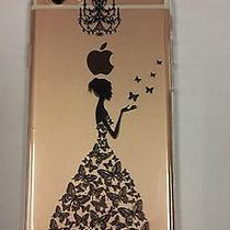 Hull Soft Gel Unbreakable Pattern Fantasy for Iphone 6 (Black Dress) Photo