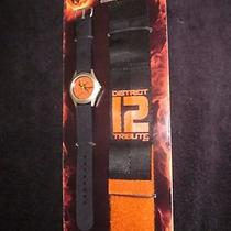 Hunger Games Mockingjay District 12 Commando Watch Interchangeable Face & Bands Photo