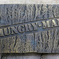 Hungry Man Campbell Soup Frozen Tv Dinners Vintage Belt Buckle Photo
