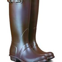 Hunter Original Tall Nebula Rain Boots Iridescent Element Sz 37 6-7 Photo