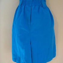Hunts Point Aqua Blue Bermuda Shorts Sz 16 Photo
