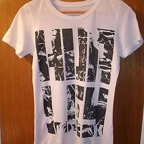 Hurley Abstract Graphic Women's Tee T Shirt Surf Beach Unique & Rare Juniors M Photo