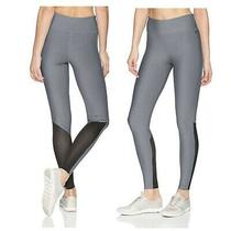 Hurley Active Mesh Surf Palmer Leggings Women's Gray Black Size Xs Extra Small  Photo