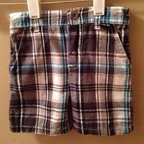 Hurley Baby Boy Plaid Shorts Size 3/6 Months Photo