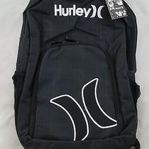Hurley Backpack Book Bag Black Photo