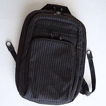 Hurley Backpackpadded Computer Compartmentblack Pinstripe Photo