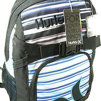 Hurley Backpack Tote School Book Bag Laptop Computer Compartment Mutlicolor Nwt Photo