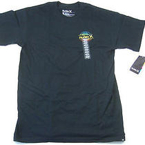 Hurley Black Large Born From Water Tshirt Mens Nwt New Photo