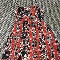 Hurley Black White and Orange Size Medium Dress.  Photo