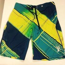 Hurley Boardshorts Size 30 Mens Swim Suit Like New Good Condition Phantom Photo