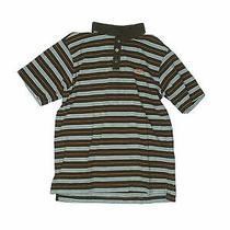 Hurley Boys Green Short Sleeve Polo L Youth Photo