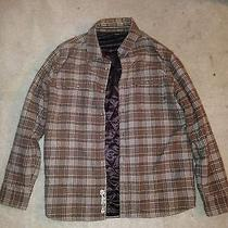 Hurley Brown Plaid Jacket Photo