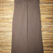 Hurley  Brown Strapless Dress  Small  Very Nice  100% Cotton Photo