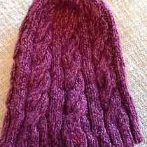 Hurley Cableknit Beanie Acrylic Pink Photo