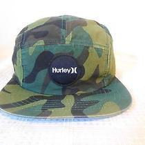 Hurley Camo Hat the Classics Yupoong W/adjustable Strap Photo
