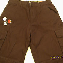Hurley Cargo Style Pants Size 16 Black Pre-Owned Photo