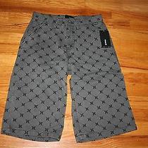 Hurley Casual Shorts Bike Shorts Gray Black Nwt Photo