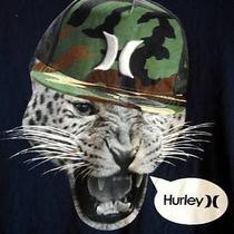 Hurley Classic Fit Lids Cat in Cameo Hat Cap T-Shirt  Size Xl Photo