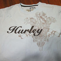 Hurley Crest Surf Shirt Size Large Baby Blue Surf Shirt Photo