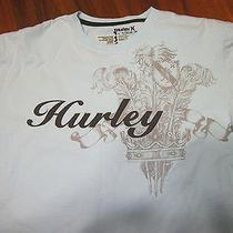 Hurley Crest Surf Shirt Size Large Baby Blue Surf Shirt Photo