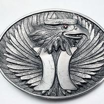 Hurley Eagle Belt Buckle Photo