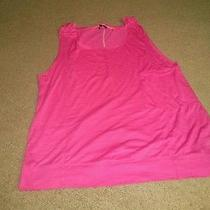 Hurley Featherweight Juniors Tank Top - Magenta Size L Photo