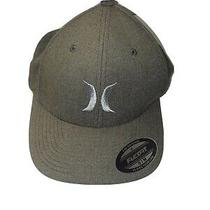 Hurley Flex Fit Two Tone Black and Brown S/m Hat Photo