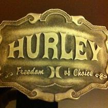 Hurley Freedom of Choice Metal Belt Buckle Limited Edition  Photo