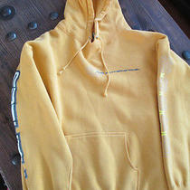 Hurley Gold Sz L Pullover Hoodie  Kangaroo Pocket Gently Worn Photo