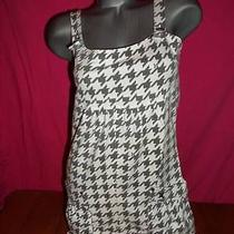 Hurley Gray and White Dress Sz S Photo