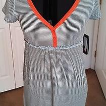 Hurley Green and White Dress Nwt Size Jr. M Nice Photo