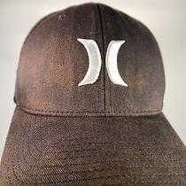 Hurley Hat /cap Flexfit Size S - M Color Black Photo