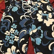 Hurley Hobie Men's 31 Board-Shorts Trunks Blue/white Photo