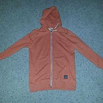 Hurley Hoodie New 52 Mens Vacation Full-Zip Heather Orange Jacket Choose Size Photo