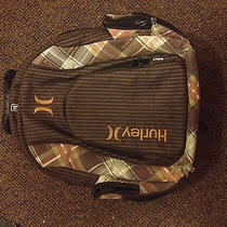 Hurley Laptop Backpack. Large Brown. Photo