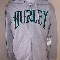 Hurley Large L Hooded Sweatshirt New Nwt Skateboard Surf Photo
