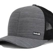 Hurley League Trucker Mens Black Streak Hat Photo