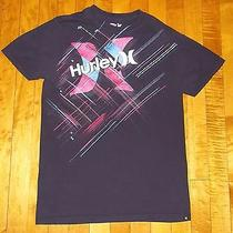 Hurley Logo T Shirt - Mens Size Small - S Photo