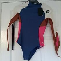 Hurley Maritime  Longsleeve Surf Swimsuit S Bnwt Rrp 76 Photo