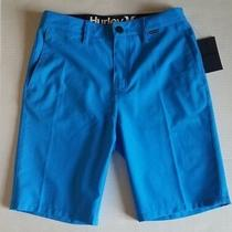 Hurley Men Only Walk Shorts Blue Mws0005700 Size 28 Msrp 60 Photo
