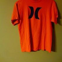 Hurley Men's 100% Cotton Medium Orange Tee Shirt T-Shirt Photo